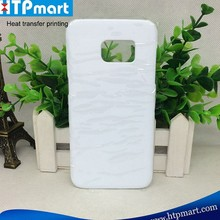 3D blank sublimation mobile phone case ,New arrival factory sale phone cover for samsung S7 edge with good price