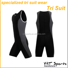 Good quality Nylon spandex performance lycra fabrics Specialized men triathlon suit