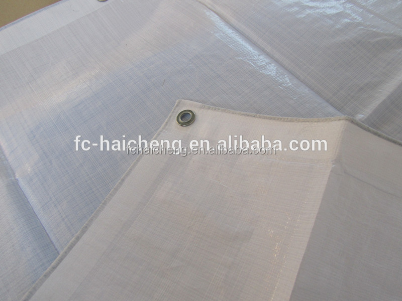 cheap price double white pe tarpaulin/pe tarpaulin vietnam