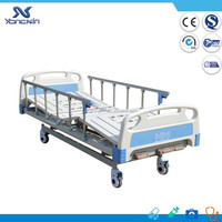 Adjustable electric ABS medical hospital bed for export