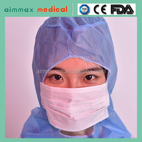 mop cap / mob cap astronaut hood surgical face mask with shield