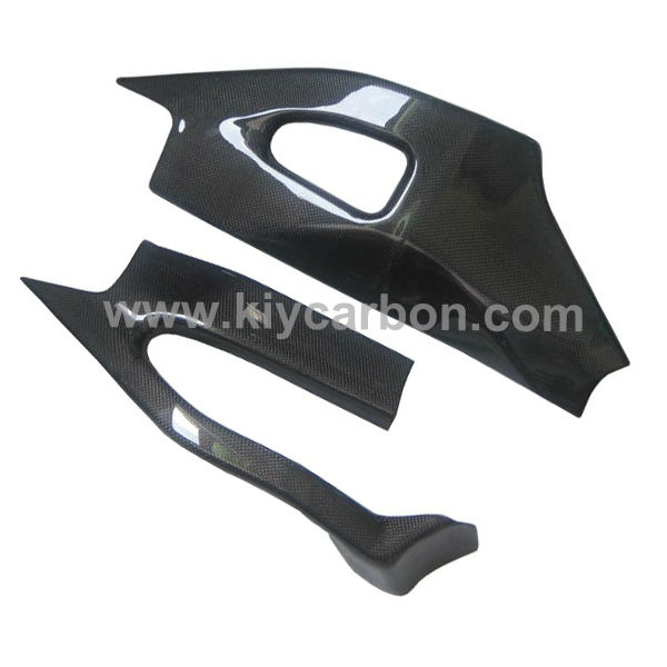 Carbon fiber swing arm cover motorcycle part for Suzuki gsxr1000