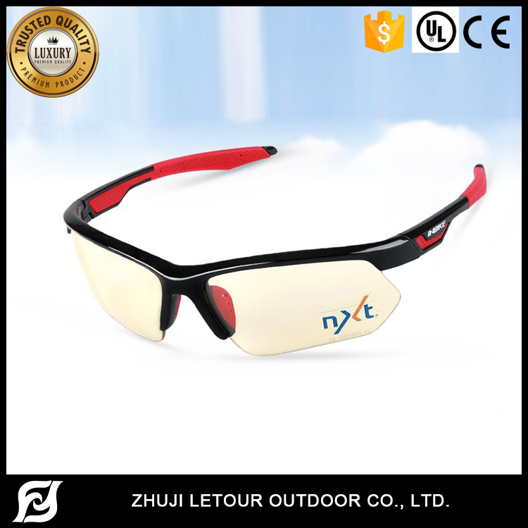 INBIKE Factory Price Sport Sunglasses With Optical Insert Lens