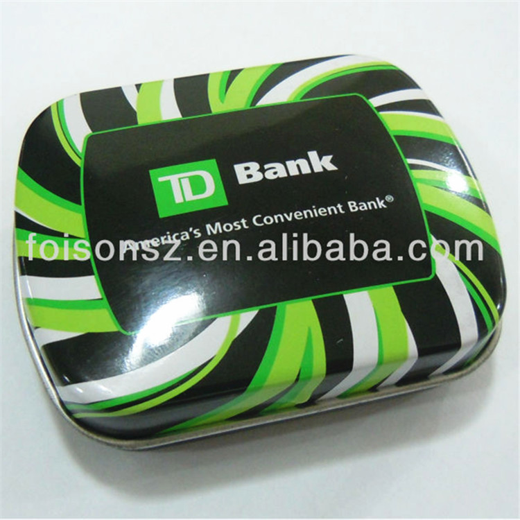 custom tin CD case with CD holder food grade metal holders sedex certification round shape zipper ribbon hangers included
