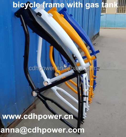 bike frame with built in gas tank/ Bike Frame With Gas Tank
