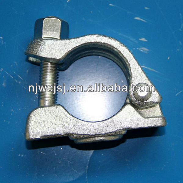 Drop Forged Scaffolding German Half Coupler