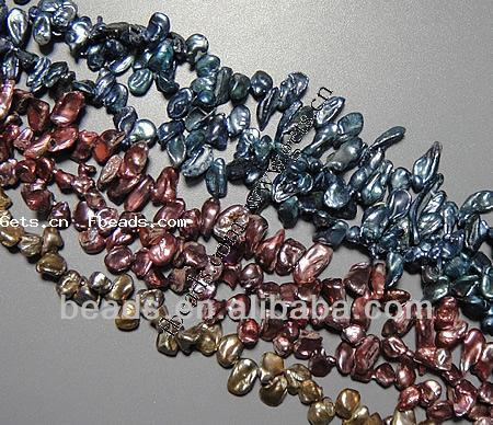 Freshwater Pearl 9-24mm 1.5mm pearl beads mixed