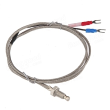 China supplier custom wire color k type thermocouple with different specification