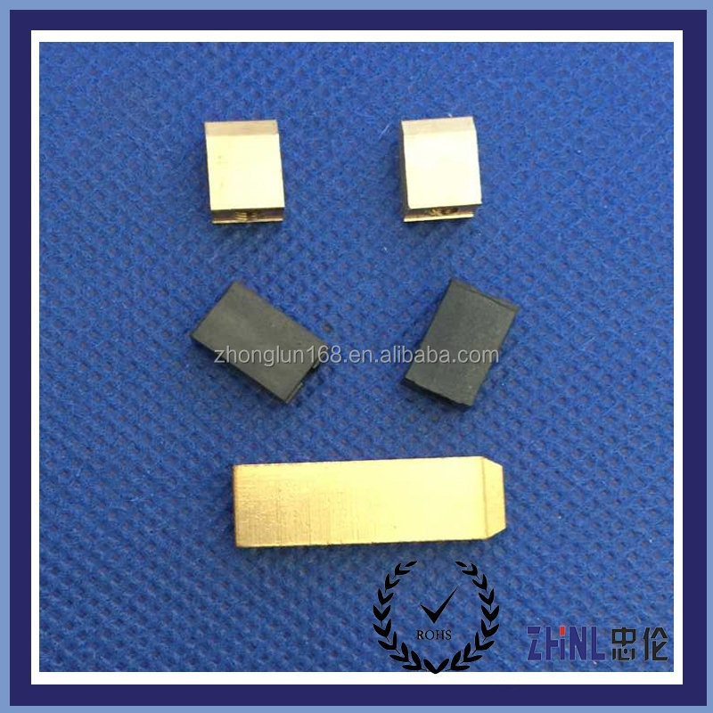 Electrical switch europe plug brass pins