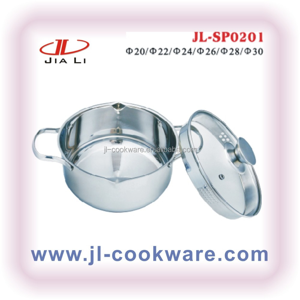 Stainless Steel Casserole indian pasta cookware