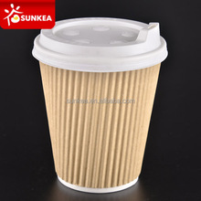 Disposable custom paper cup and craft paper