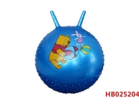 45Cm 400G Inflatable Ball, Kids Play Inflatable Pvc Jumping Ball With Handle