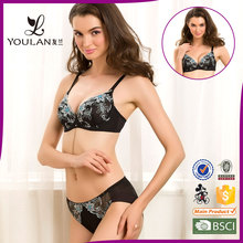 2016 New Hot Selling Underwear Womens Lingerie Hot Sexi Girl Wear Bra Panty Set