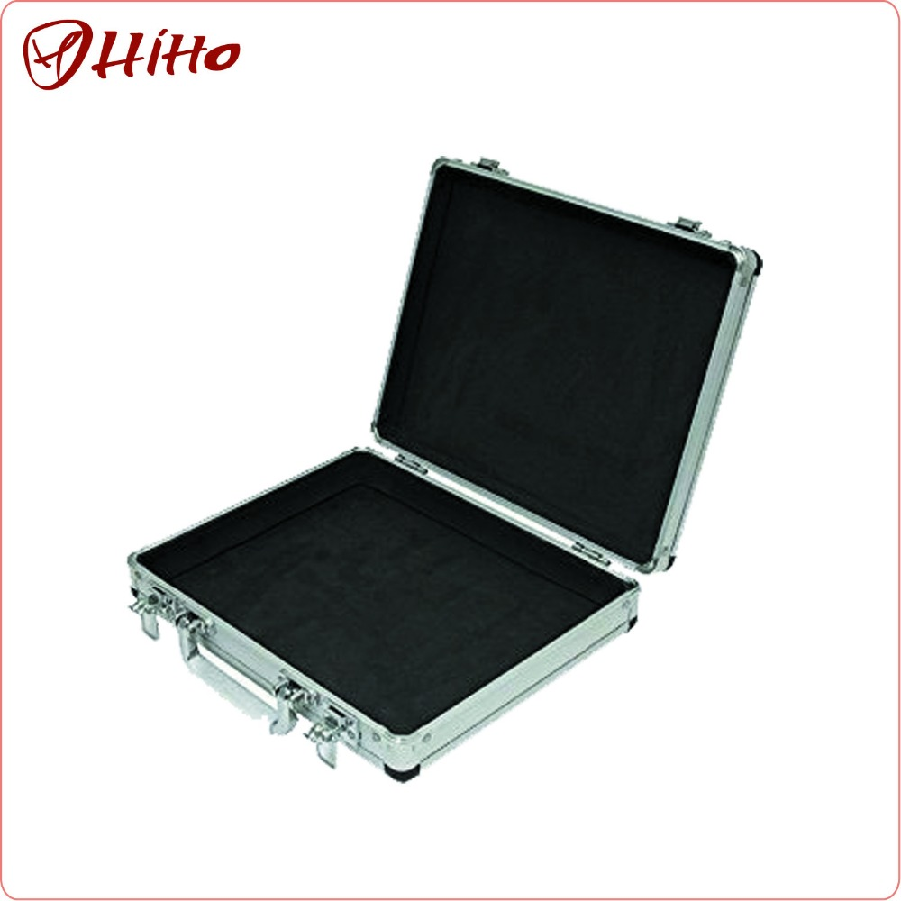 Customized Empty Aluminium Hard Tool Case Briefcase