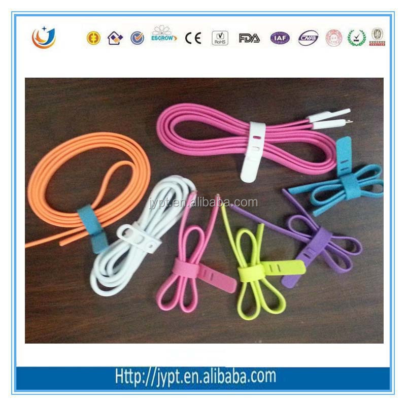 Trade Assurance Adjustable hook Tie cable/plastic hook velcro cable ties