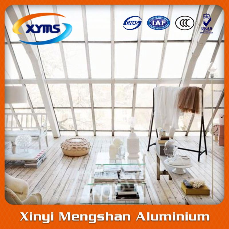 aluminum alloy extrusion profile sunroom with shutter