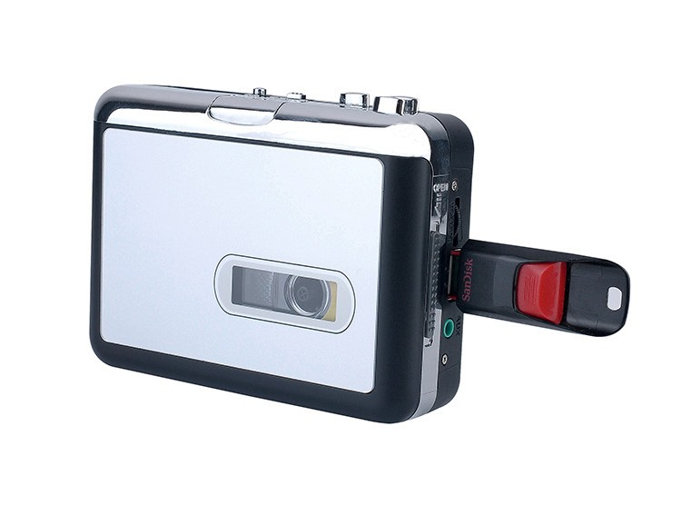 ezcap231 Portable Walkman Tape Player Cassette Tape to mp3 Converter Directly to USB Disk no PC Required