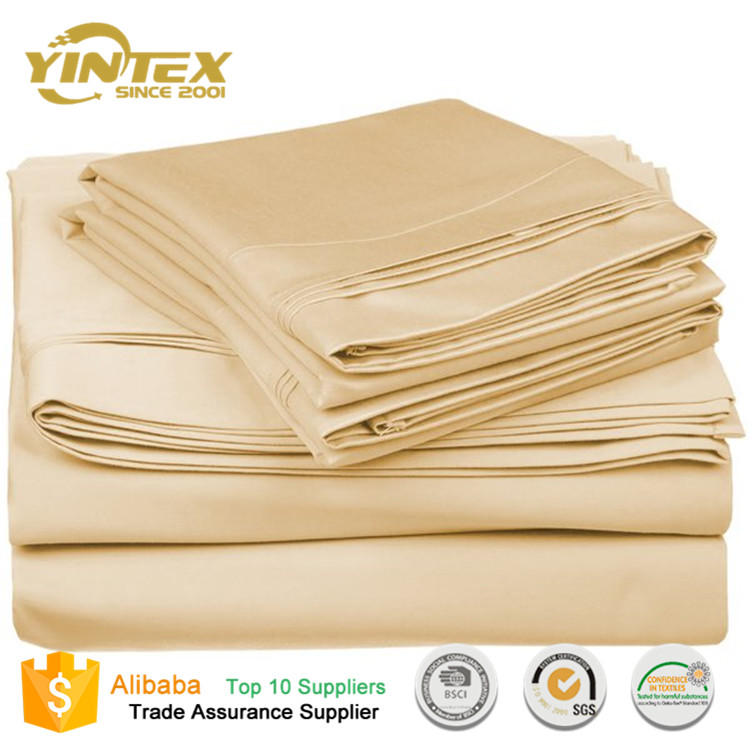 1800TC Hand Egyptian High Quality Indian Cotton Bed Sheets