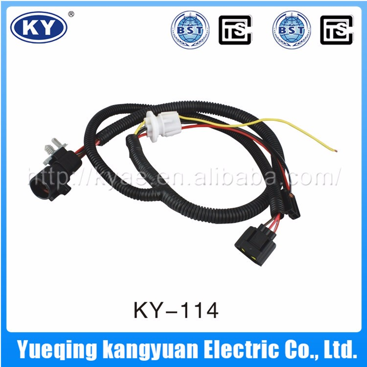 Equipment Electric Fuel Injector And Light Wire Harness