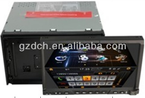 2 din detachable tablet car dvd gps with 3g wifi WS-7200