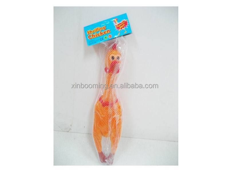 Promotion Shrilling Scream Rubber Chicken, Special Bellow Chicken