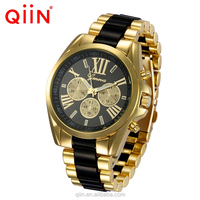 QE0102 Newest Geneva alloy twist chain men's watch Women watch