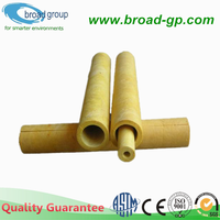 Glass Wool Pipe Insulation Materials for Water Pipe