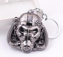 Fallout game themed Enclave metal keychain