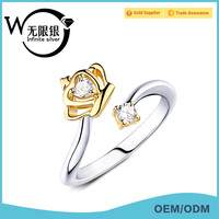 Infinite Factory Direct Sale High Quality S925 Ring silver jewerly ring