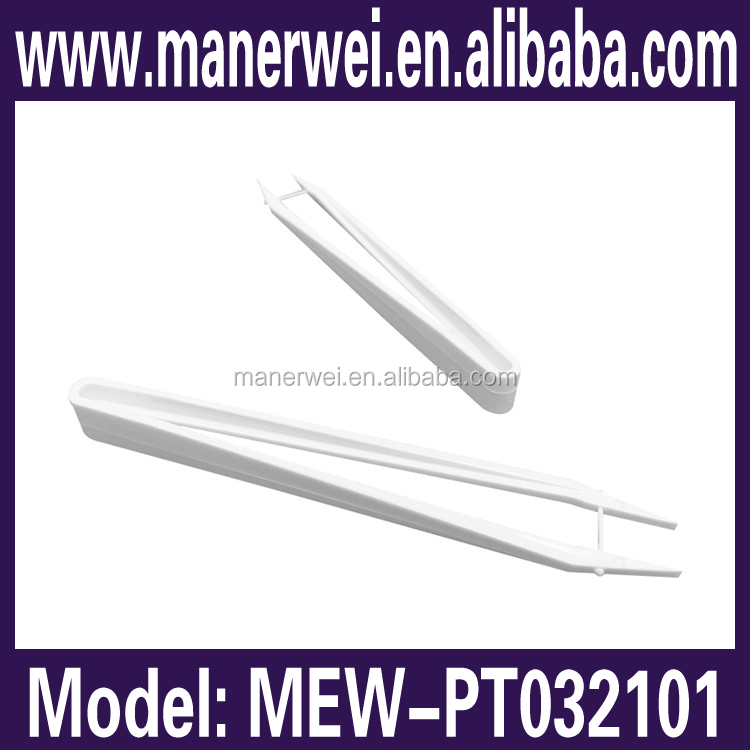 Wholesale best quality useful disposable plastic long lab tweezers