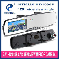 NEW!! 2.7'' Full HD 1080P toyota innova car accessories Mirror Rearview Camera With Night Vision