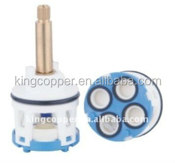 40mm plastic cartridge ceramic dic ,faucet ceramic with diverter