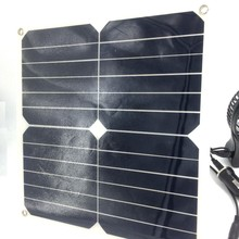 PET/ETFE mini Flexible solar panel kits 10w 12v price for backpack and handbag