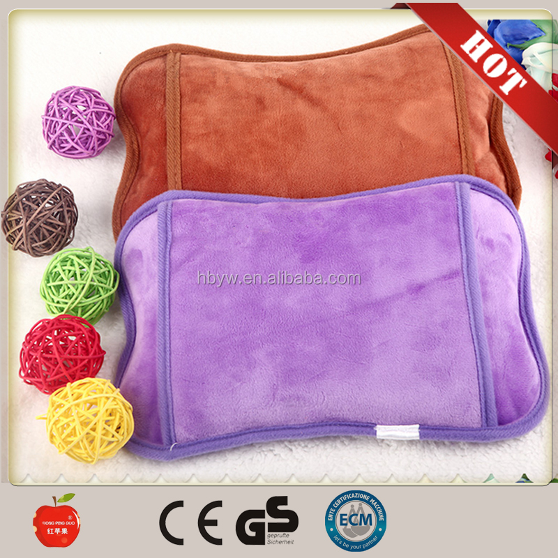 Fashion electric hot water bag/hot water bottle/hand warmer bag to warm hands for winter from china supplier