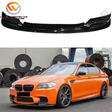 3D Design Carbon Fiber Auto Car Body Kit Parts 5 Series F10 M5 Style Front Bumper Spoiler Lip 2012-2016 China Manufacturer