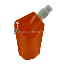 Eco-friendly/Foldable Plastic Collapsible Water Bottle for Promotional Purposes, Easy to Carry
