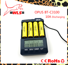 Hot sale OPUS BT-C3100 Charger for 10440 / 14500 / 14650 / 16340 / 17670 / 18500 / 18650 Battery,BT-C3100