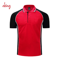 Dry fit slim fit camisas men 100 polyester polo shirts wholesale