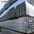 40*80*2.0 mm Galvanized hollow section Square & rectangular steel pipe steel tubebe