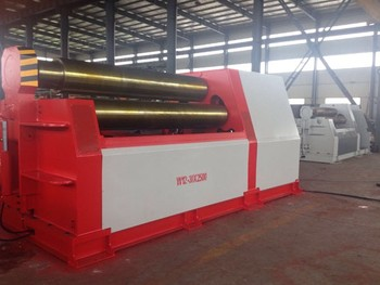 W11 6X2500 Plate rolling machine,3-Roll forming machine, roll bending machine carrel