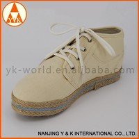 Wholesale new design high top sneaker manufacturer