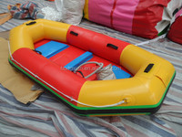 Best selling popular inflatable kayak, inflatable small boat for sale
