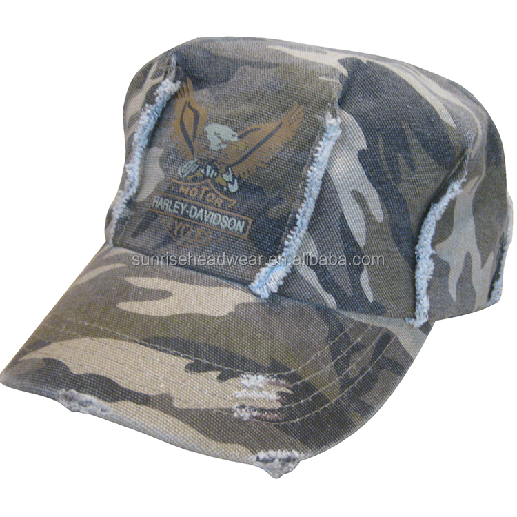 High quality customized design custom design blank mix color military hat cap