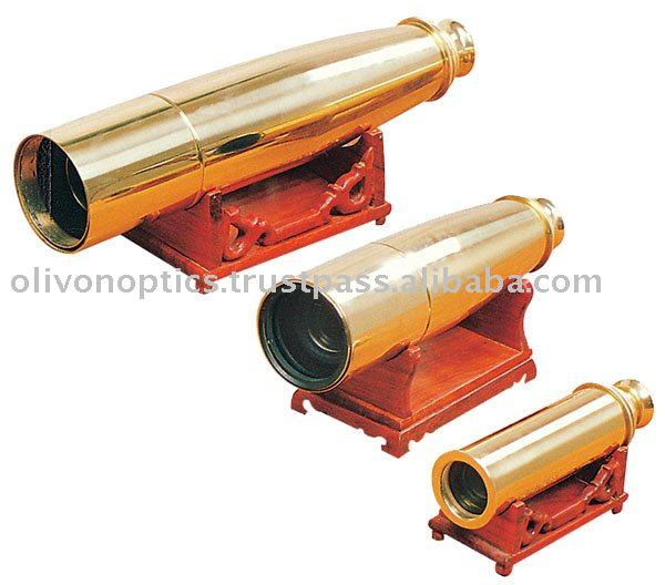 Olivon Collapsible Handheld Brass Telescopes