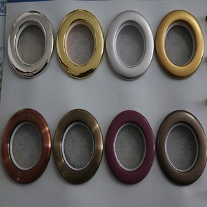Wholesale curtain accessories plastic material curtain eyelet ring
