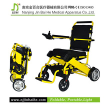 detachable /washable seat cushion/backrest electric wheelchair factory