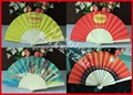 Customized Spanish wood fan