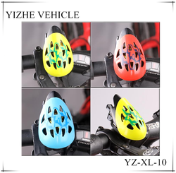2016 Unique ding dong bike helmet bell / China bicycle bell with helmet