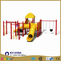 Plastic play equipment toys for amusement park