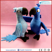 wholesale stuffed plush toy parrot that talks